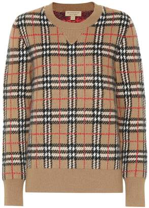 Burberry Vintage Check cashmere sweater