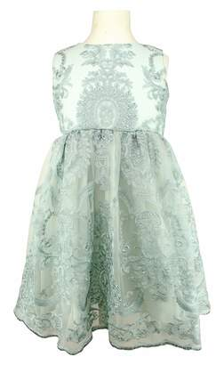 Popatu Embroidered Tulle Dress