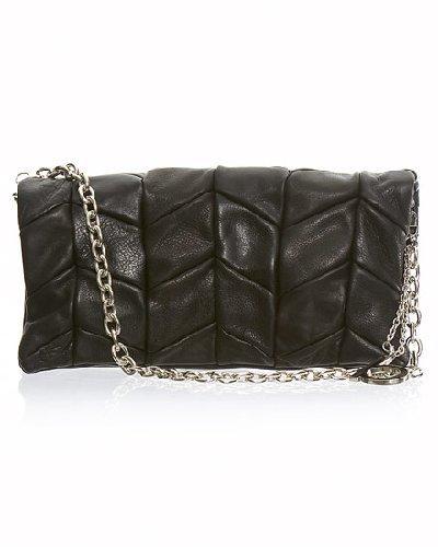 Chevron Leather Clutch