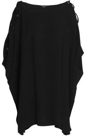 Heidi Klum Swim Lace-Up Twill Mini Dress