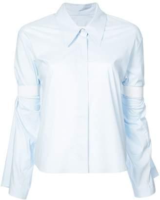 MM6 MAISON MARGIELA banded sleeve shirt