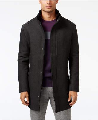 Alfani Men Mock Collar Textured Top Coat