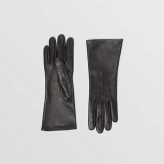 Burberry Silk-lined Lambskin Gloves