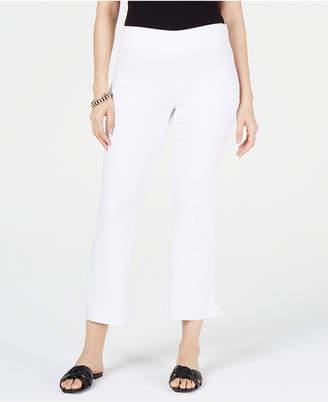 INC International Concepts I.n.c. Curvy Ruffled-Hem Ankle Skinny Pants