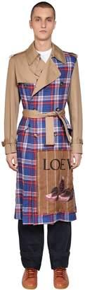 Loewe Patchwork Trench Coat