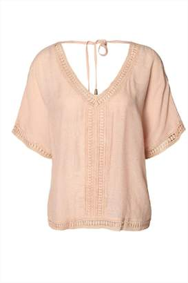 Dex Blush Boho Blouse