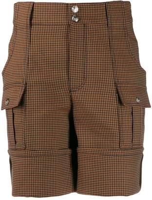 Chloé houndstooth shorts