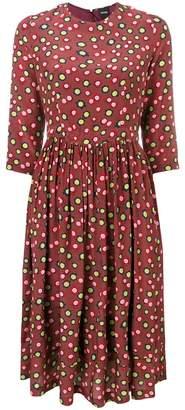 Aspesi flower print midi dress