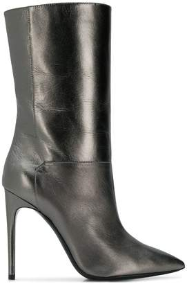 Pollini pointed mid-calf boots