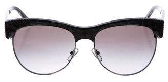 Versace Clubmaster Tinted Sunglasses