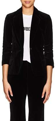 Nili Lotan Women's Humphrey Cotton Velvet Single-Button Blazer