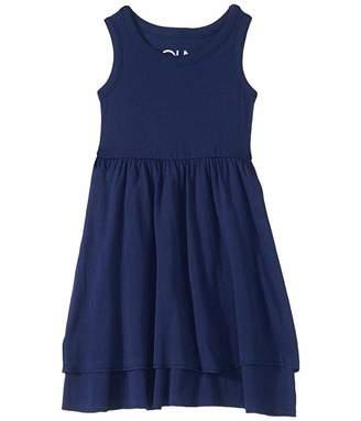 Chaser Baby Rib Tiered Tank Dress (Toddler/Little Kids)