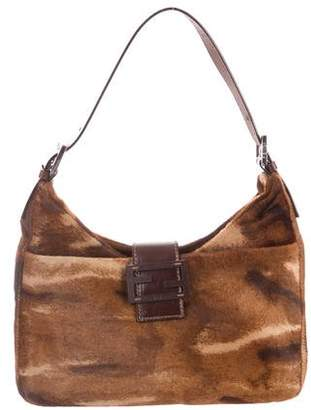 31d6ce37903e Pre-Owned at TheRealReal · Fendi Ponyhair Shoulder Bag
