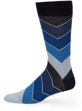 Saks Fifth Avenue COLLECTION Repeated Arrow Socks
