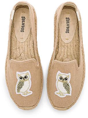 Soludos Gilded Owl Smocking Slipper