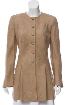 Valentino Sructured Flared Coat
