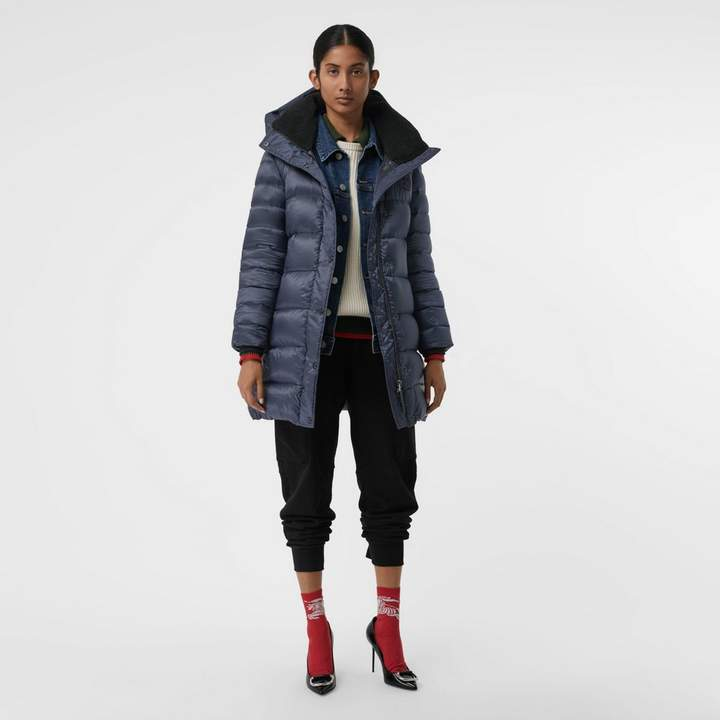 Down-filled Hooded Puffer Coat