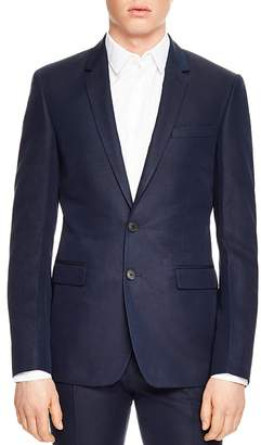 Sandro Notch Tropical Slim Fit Sport Coat
