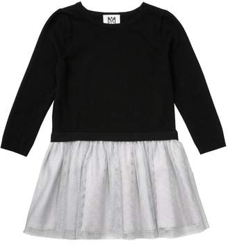 Milly Minis MillyMilly Tulle Sweater Dress