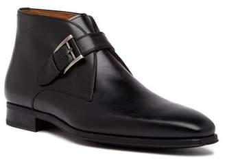 Magnanni Raiden Monk Strap Leather Boot