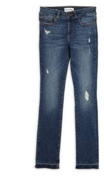 Chloé Little Girl's Washed Skinny Jeans