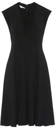Stella McCartney Sleeveless crêpe dress