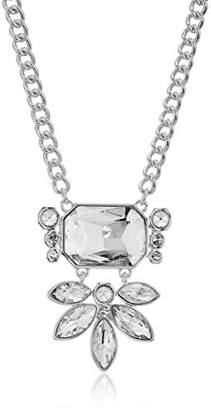 T Tahari Womens Essentials Pendant Necklace With Stones