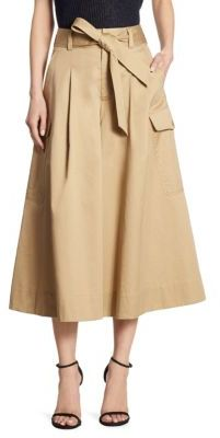 Polo Ralph Lauren Wide-Leg Cotton Chino Pants $245 thestylecure.com