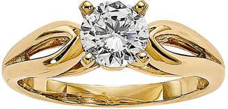 MODERN BRIDE 3/4 CT. Diamond 14K Yellow Gold Solitaire Ring