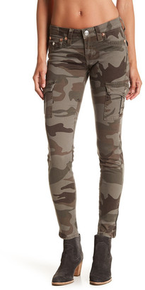 True Religion Camouflage Skinny Cargo Pant $181 thestylecure.com