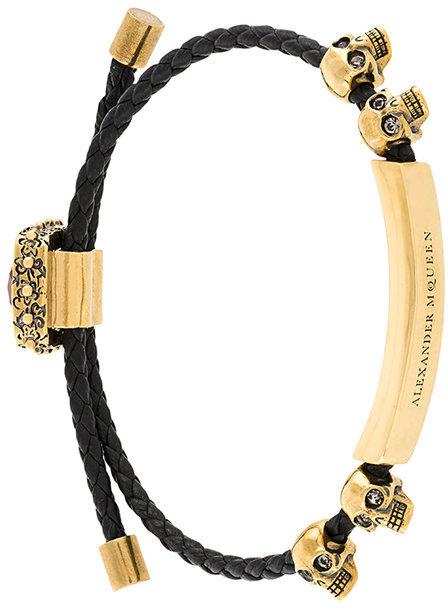 Alexander McQueenAlexander McQueen heart charm bracelet