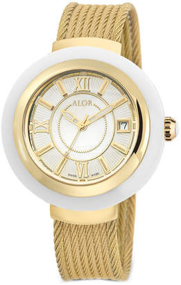 Alor Women's 37Mm Cavo Gold Rope Watch