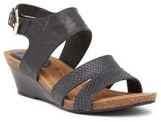 Sofft Velden Leather Wedge Sandal