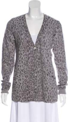 Equipment Printed Cashmere Cardigan w/ Tags