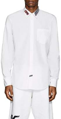 Givenchy Men's Logo Cotton Poplin Shirt