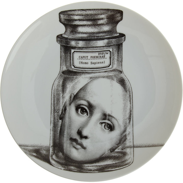 Fornasetti Theme & Variations Decorative Plate #166