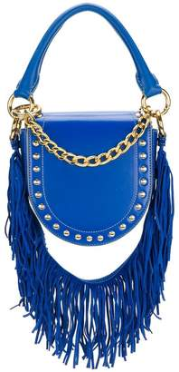 Sacai studded fringed strap shoulder bag