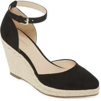Liz Claiborne Womens Velma Wedge Sandals
