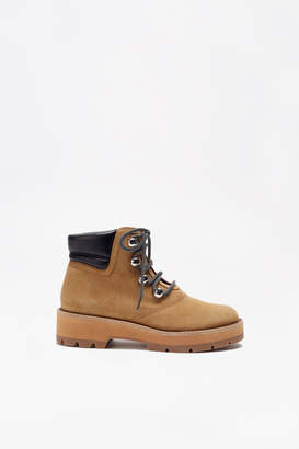 3.1 Phillip Lim Dylan Suede Lace-Up Hiking Boot