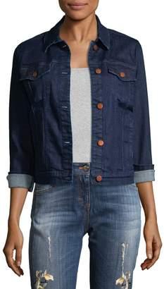J Brand Women's Cropped Denim Jacket