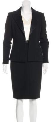 Chanel Wool & Silk Dress Set