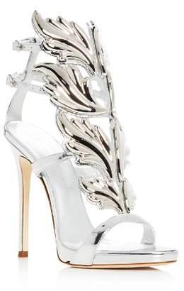 Giuseppe Zanotti Women's Coline Cruel Patent Leather Wing Embellished High-Heel Sandals