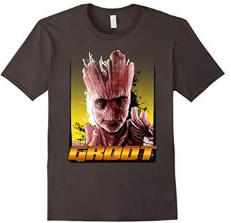 Marvel Groot Guardians of the Galaxy Stoic Graphic T-Shirt