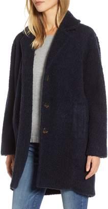 Lou & Grey Koba Curly Brushed Wool Blend Coat
