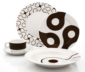 notNeutral Links 5-Piece Dinner Set