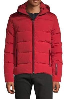 Fendi Graphic Hooded Puffer Jacket