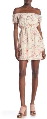 535ef8a8965 Honeybelle Honey Belle Floral Print Off-the-Shoulder Dress