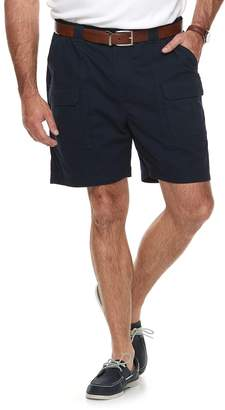 Croft & Barrow Big & Tall Outdoor Regular-Fit Belted Performance Cargo Shorts