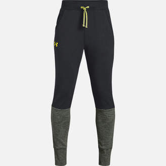 Under Armour Boys' Double Knit Tapered Sweatpants