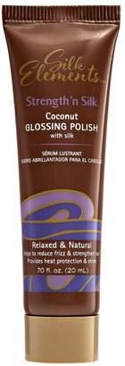 Silk Elements Strength n Silk Coconut Glossing Polish Travel Size